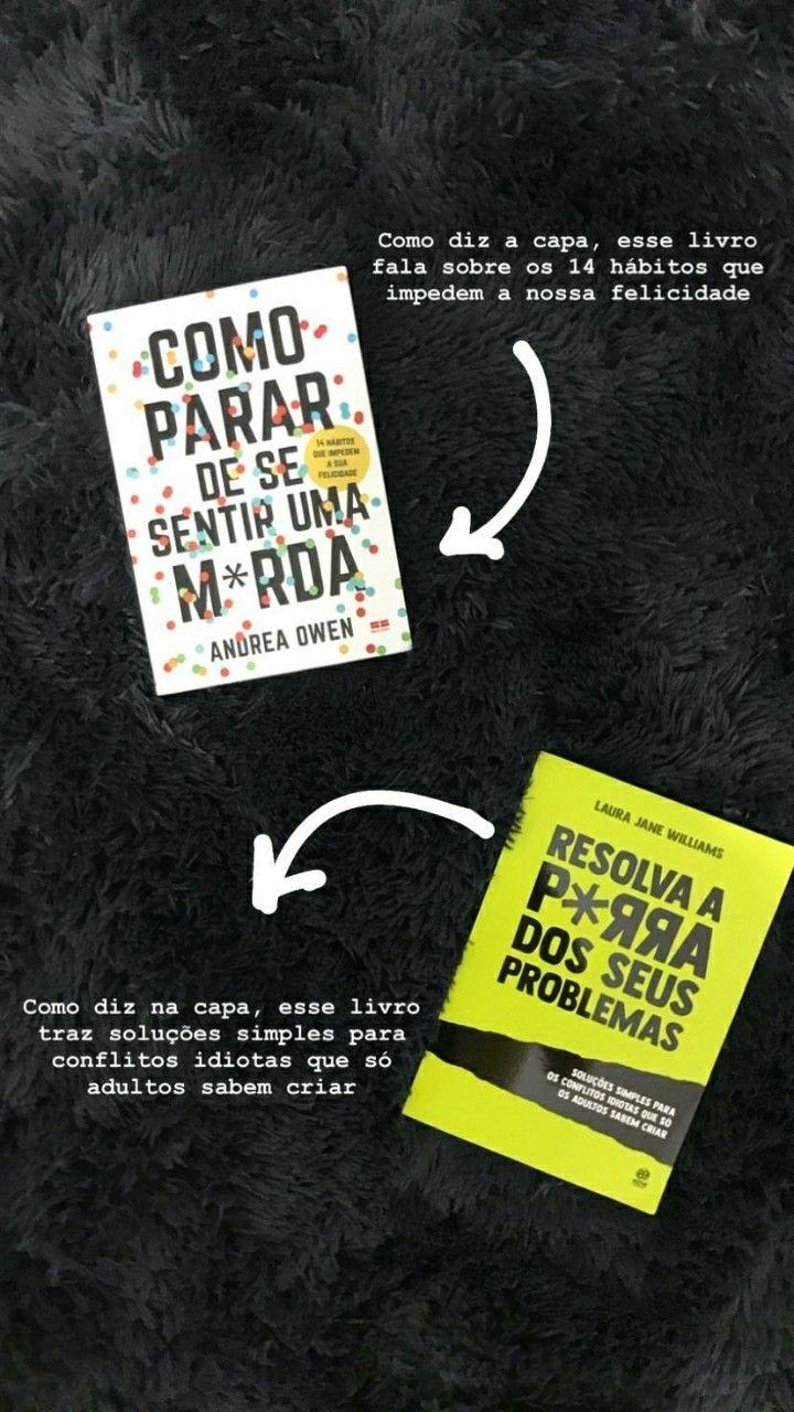 Achei Os Livros Que Resolverão A Minha Vida Em 2019 Livros