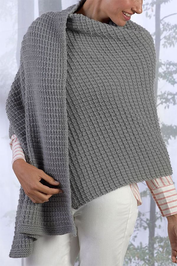 Free Knitting Pattern For 4 Row Repeat Safe Haven Shawl This