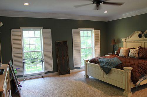 Sherwin Williams Retreat A Deep Gray Green Dream House