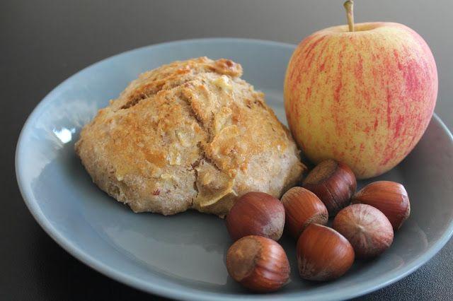 Ager bager: Nøddeboller med æbler