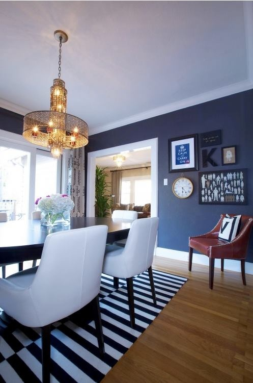 32 best images about blue dining room another time on for Navy dining room ideas