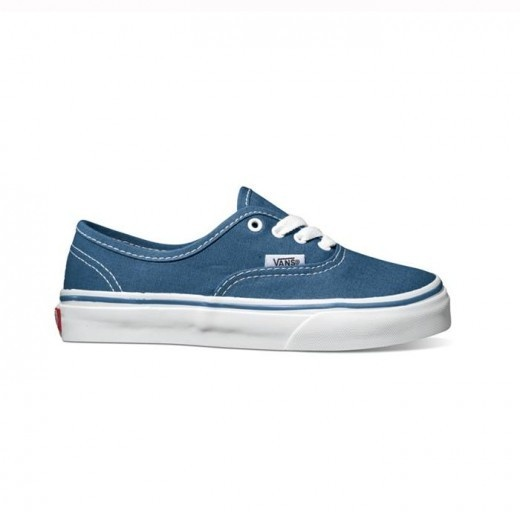 We love Van's kids canvas authentic sneakers!