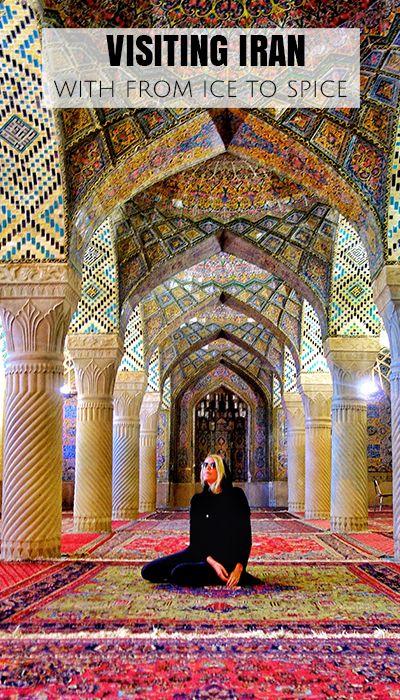 Nasir Ol Molk Mosque in Shiraz, Iran.