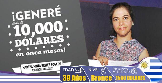 Testimonio Omnilife Angelíssima: Martha lleva menos de un año en Omnilife y ya genera 1,500 USD al mes con su Negocio Independiente...