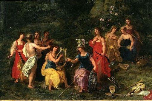 The 9 Muses of Greek Mythology