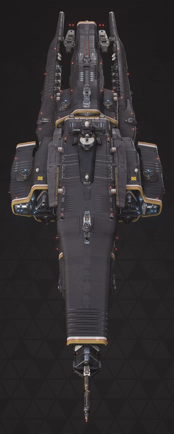 "ArtStation - Titan Defence Systems ""Equalizer"" - Fractured Space, Hans Palm:"