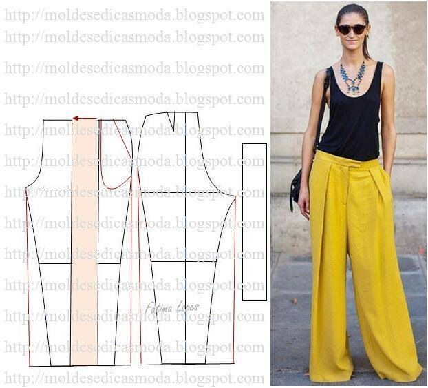 palazzo pants pattern - Google Search