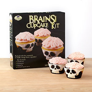.: Cupcakes Brains, Ideas, Skull Cupcake, Brains Cupcakes, Cupcake Brains, Halloween