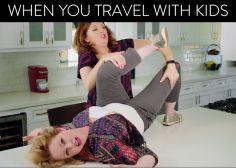 Elles racontent pourquoi prendre l'avion avec un bébé est un cauchemar, dans une vidéo hilarante