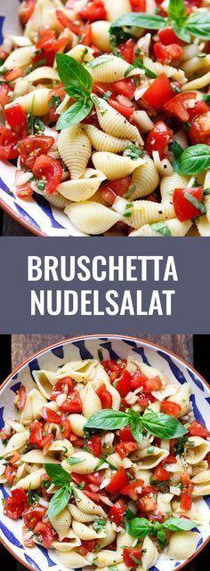 Bruschetta Nudelsalat – #Bruschetta #cuisine #Nudelsalat