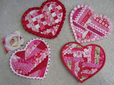 253 best Valentine Quilt ideas images on Pinterest | Quilt ...