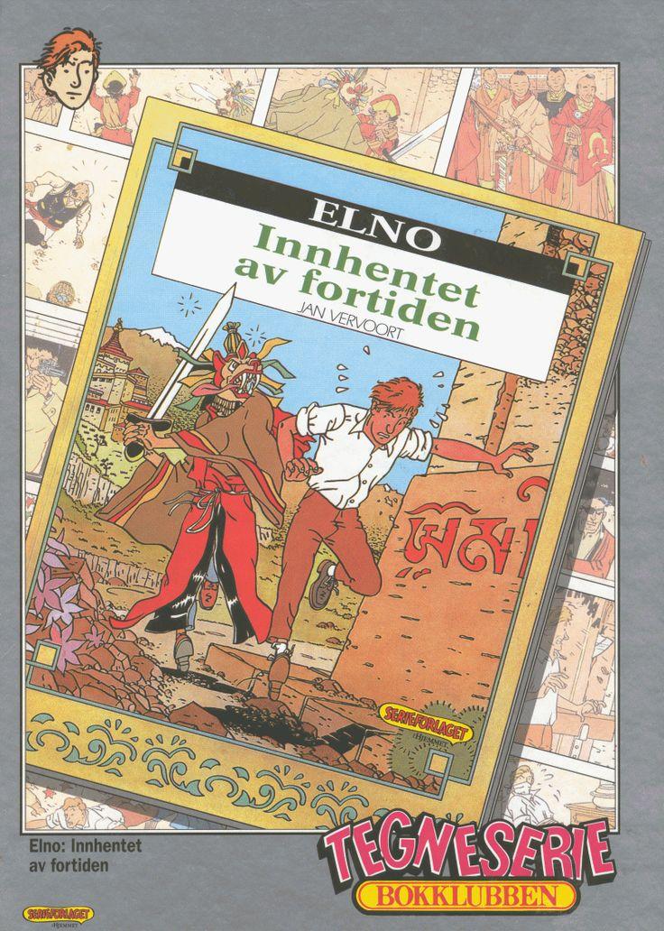 Deense uitgave van ELNO, een stripreeks van JAN VERVOORT. Een van de beste stripmakers van Nederland.
