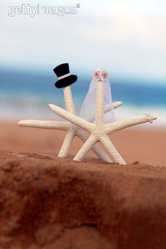 Simple beach cake topper... Wedding ideas for brides, grooms, parents & planners ... https://itunes.apple.com/us/app/the-gold-wedding-planner/id498112599?ls=1=8 … plus how to organise an entire wedding ♥ The Gold Wedding Planner iPhone App ♥