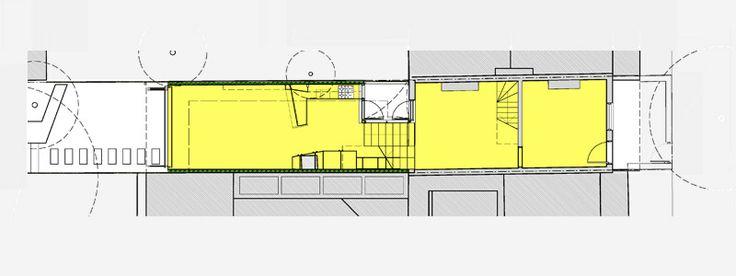 GRAFT HOUSE – DARLINGTON #house #sydney #concrete #timber #blackbutt #splitlevel #architect #innerwest #darlington #plan