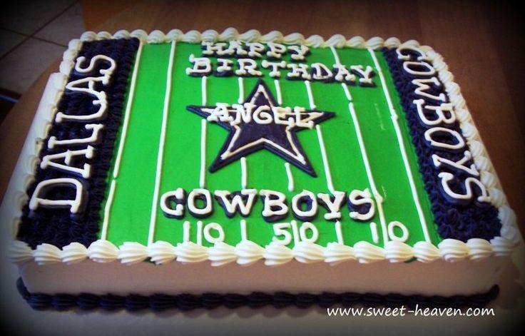 Dallas Cowboys Sheet Cake  By Sweetheaven CakesDecorcom cakepins.com