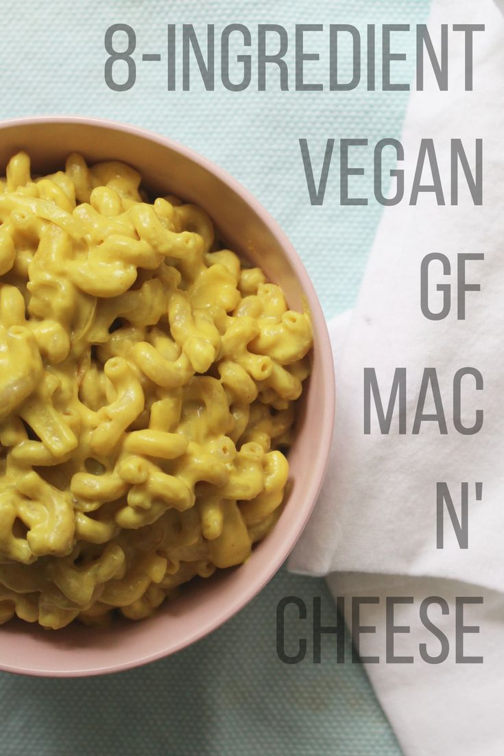 8-Ingredient Easy Vegan Mac n' Cheese - Powered by @ultimaterecipe