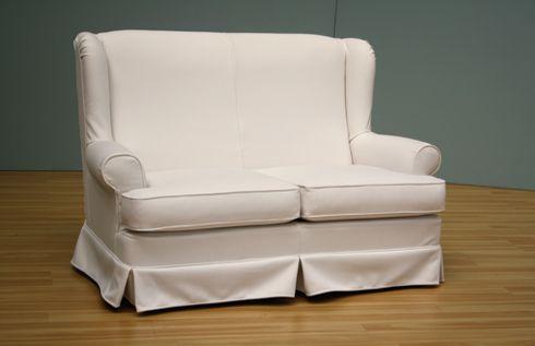 Divano Bergerino: la classica poltrona bergere diventa un comodi divano due posti