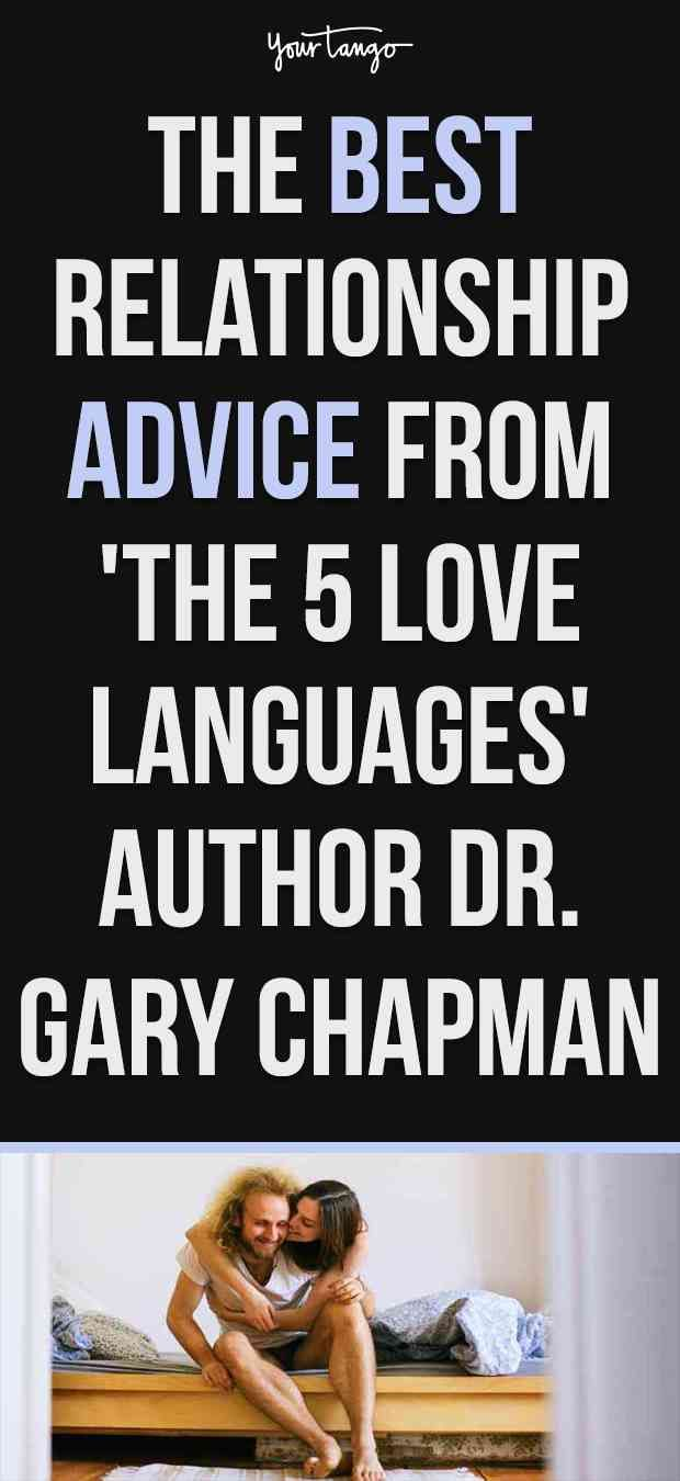 Dr. Gary Chapman published his first book 'The Five Love Languages' as a way to bring couples closer together. And once you know the 5 languages of love, you can learn more about how to have a happy relationship.