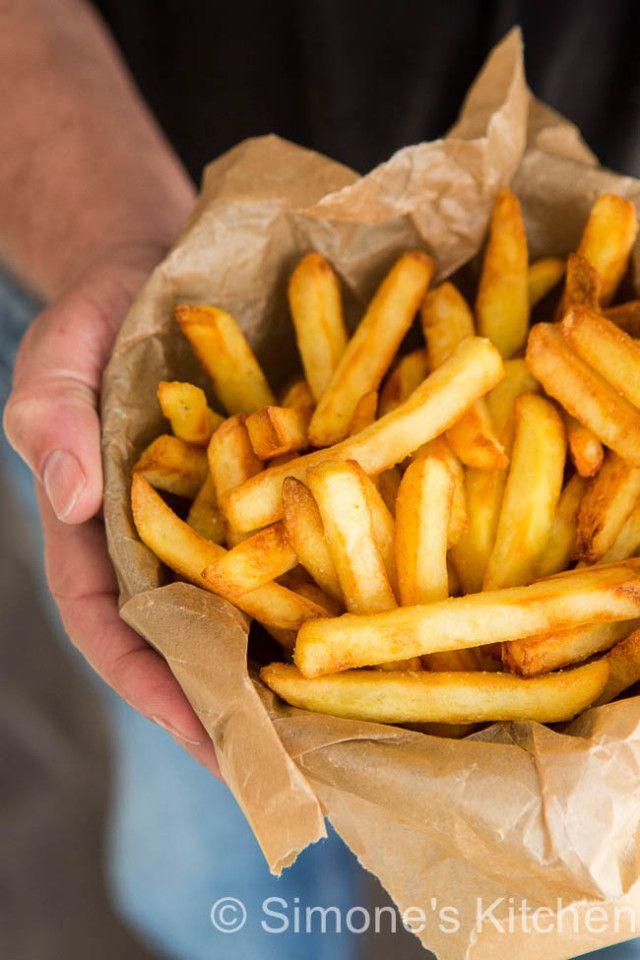 Krokante frietjes uit de airfryer | simoneskitchen.nl