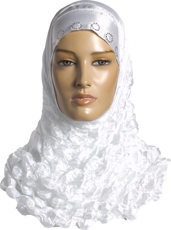 Igal Hijab - White - Bubbly http://www.muslimbase.com/clothing/hijabs/igal-hijab/igal-hijab-white-bubbly-p-6405.html