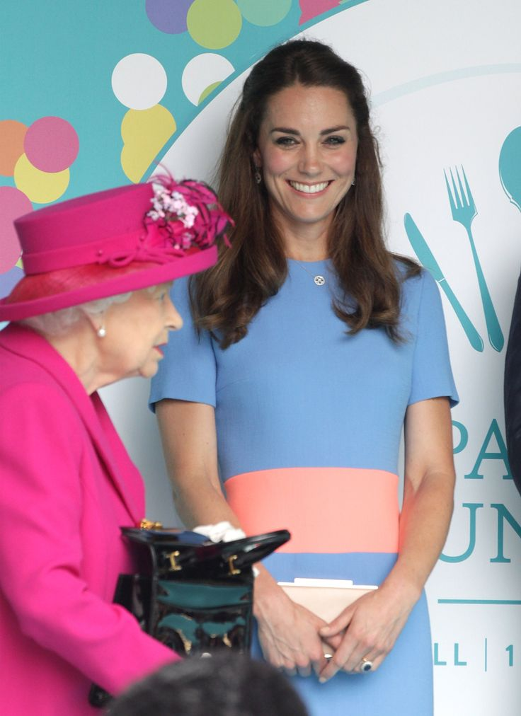 The Royals Aren't Letting a Little Rain Ruin the Queen's Birthday Picnic Lunch