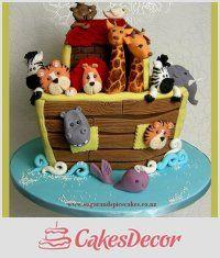 CakesDecor Thema: Noah's Ark Cakes - CakesDecor