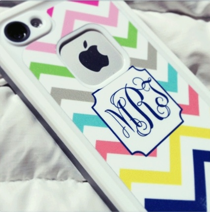 Multi Chevron Peel & Stick LIFEPROOF iPhone Decal - DESIGN YOUR OWN!