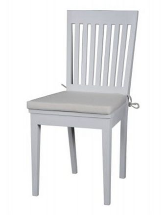 White Dining Chair - £375.00 - Hicks and Hicks