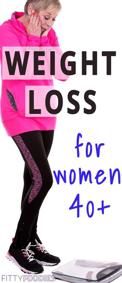 Weight loss for women over 40 is much harder than weight loss for 20-year-olds. Luckily, we're about to share some tips that'll make it a whole lot easier!