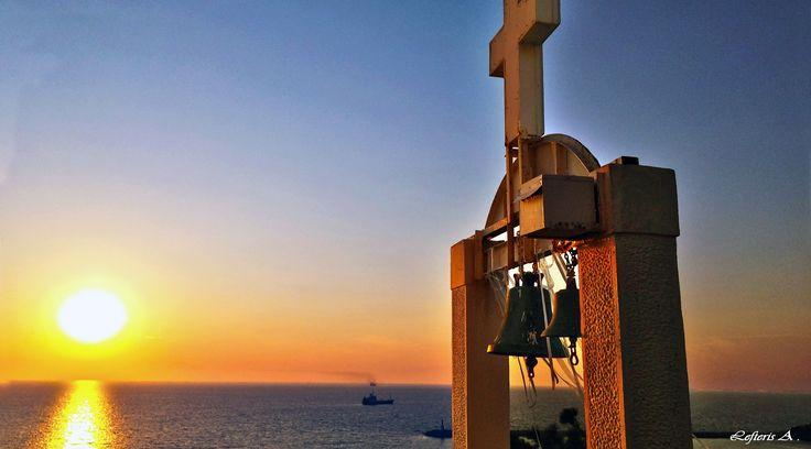 Ναοί στο χρώμα τ' ουρανού. Άγιος Νικόλαος - Λήμνος (photo by LG G4)