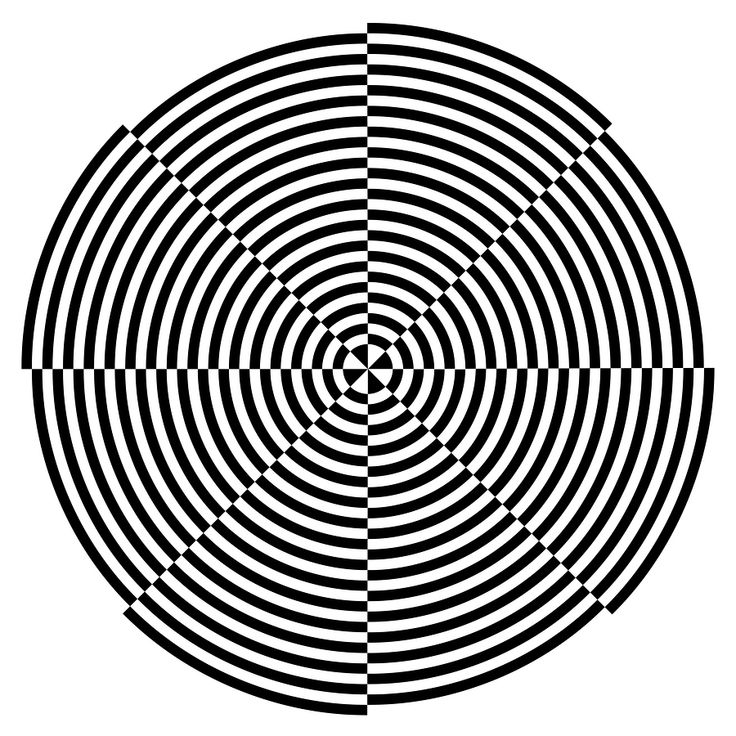 Next Illusion Stare at the dot in the centre of the image for 30 seconds. Then roll your mouse over the image. The image will change dramatically before your eyes into a black and white picture. It will then revert back to colour. Your brain is deciphering whether the image is black and white or colour.