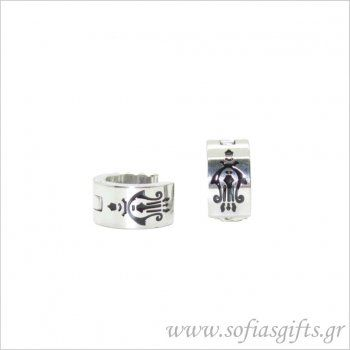 Ανδρικό σκουλαρίκι κρίκος #ανδρικά #σκουλαρικια #andrika #skoularikia #kosmhmata #κοσμηματα