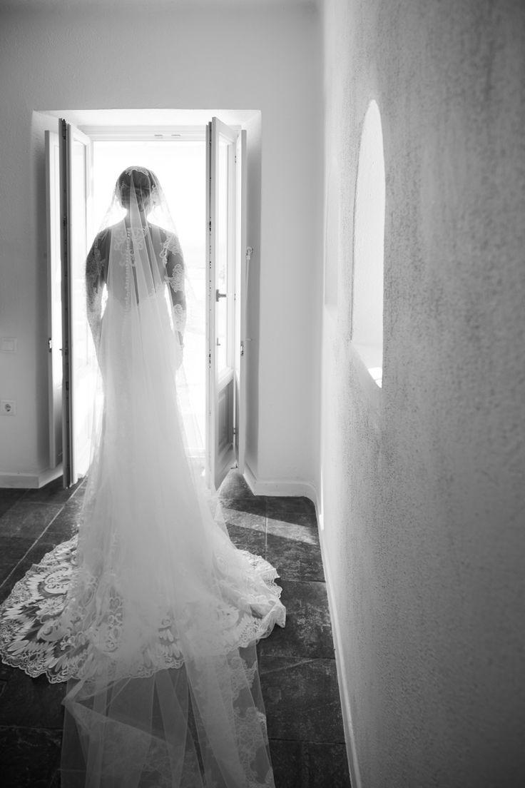 Beauty, Art, Creative, Black And White, Bridal Wear, Bridal Dress, Lace, Santorini Weddings