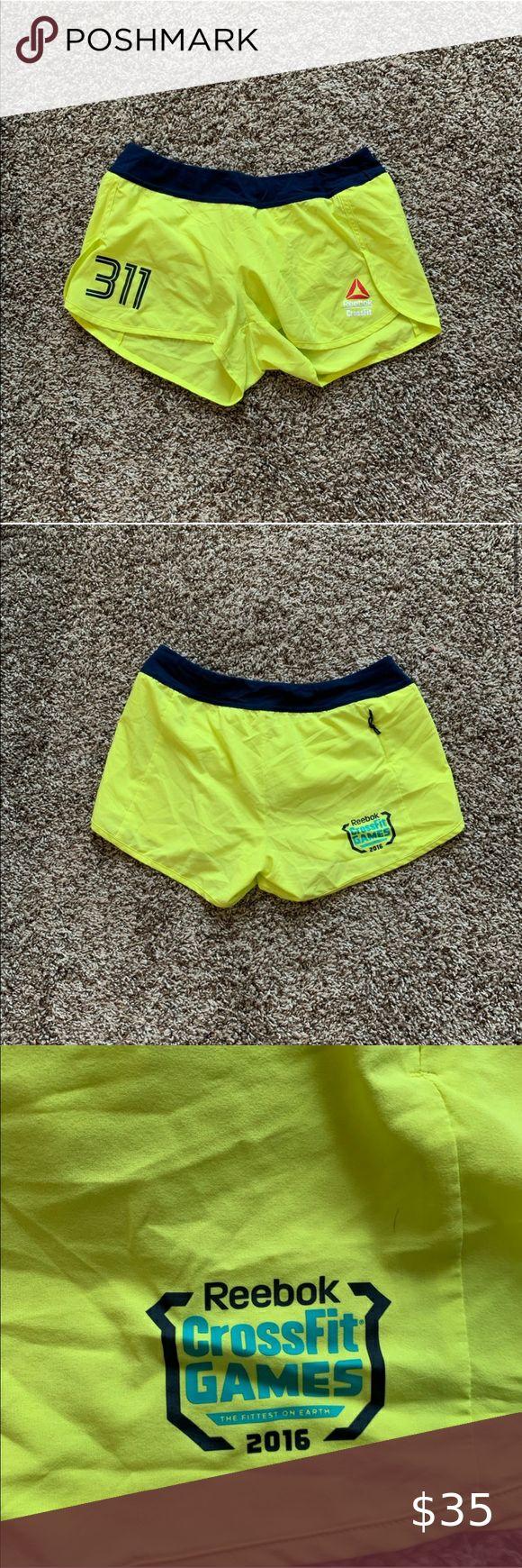 2016 Reebok crossfit games shorts in 2020 Reebok