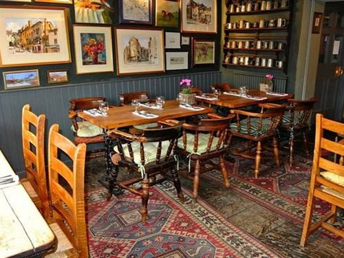 The Fox in Lower Oddington, Moreton in Marsh, is a traditional Cotswolds inn offering excellent food, shabby chic accommodation and plenty of local character. The bar area is cosy but offers a good range of fine wines and real ales. The main focus however is the food The Fox being primarily a restaurant pub. The menu combines modern British food as well as European style dishes featuring seasonal and local ingredients.