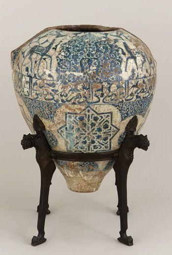 The Alhambra Vase, Spain, late 14th-early 15th century