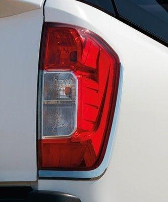 Nissan NP300 Navara (D23M) Rear Light Finishers, Chrome - B65514JA0A