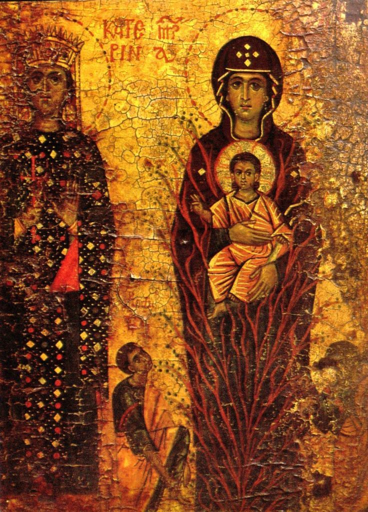 oldest icon for our lady of the burning bush - Google Search