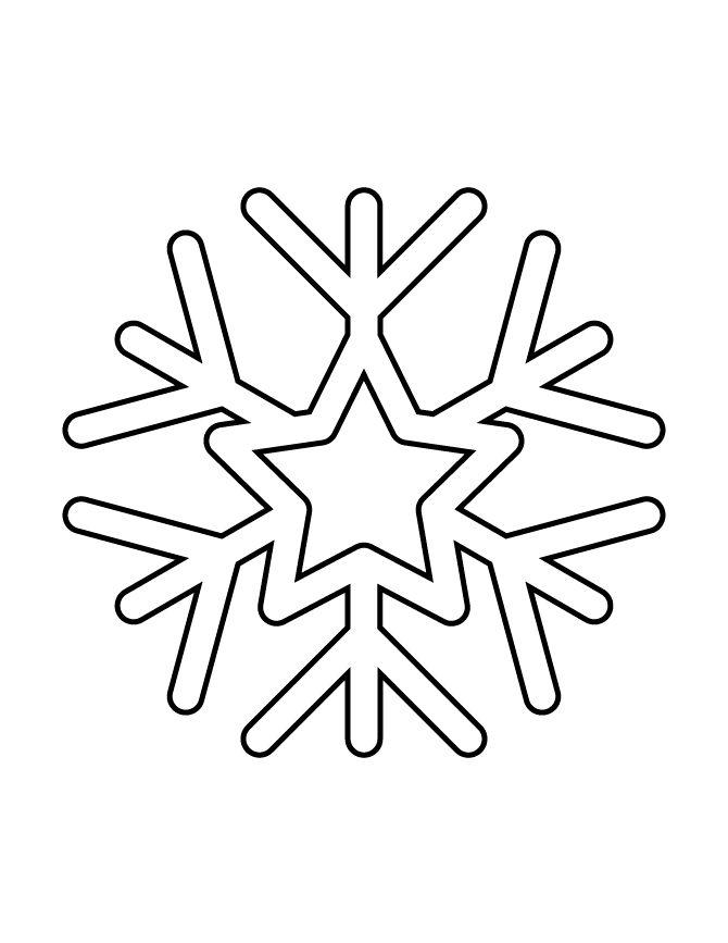 Картинки маленькие снежинки распечатать