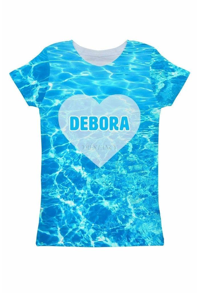 Harmony Song Customized NAME Zoe Blue T-Shirt - Women