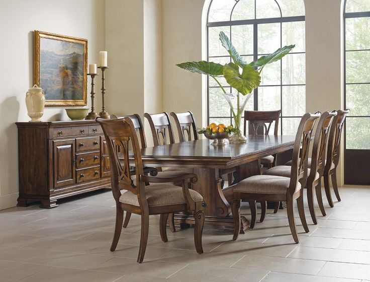 Shop For Portolone Carusso Trestle Table, And Other Dining Room Dining  Tables At Star Furniture TX.