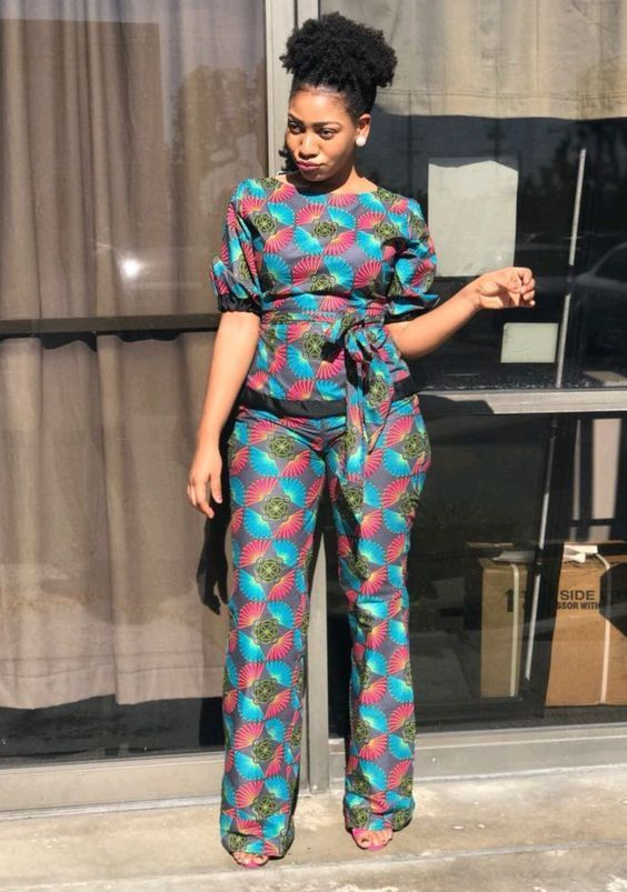 87e12245360e ... african ankara styles for beautiful chics. Rock these jumpsuits