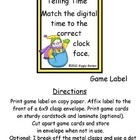 6x9 Envelope CenterFull-Color PagesSkill: Telling Time to the Hour and to the Half HourPages: 7Each Envelope Center includes a Game Label with...