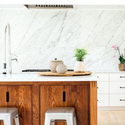 The luxe look of Carrara marble is a trend that's here to stay—and it doesn't have to be limited to countertops.