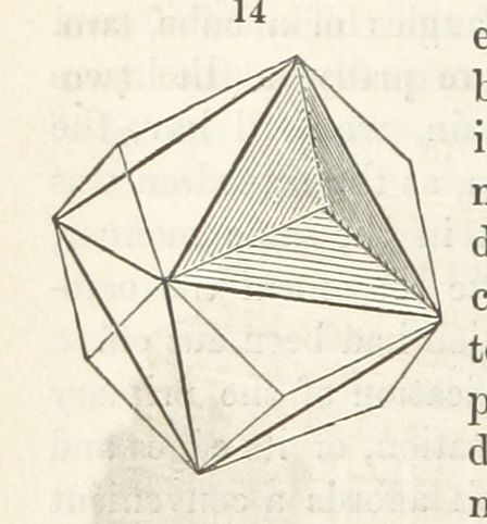 Image taken from page 112 of 'Practical Geology and Mineralogy; with instructions for the qualitative analysis of Minerals'   by The British Library