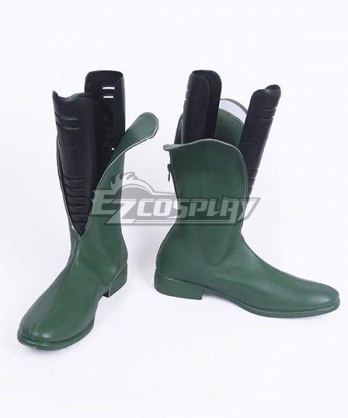 1b35c136147b DC Comics Batman Robin Dick Grayson Green Shoes Cosplay Boots - A Edition   Robin