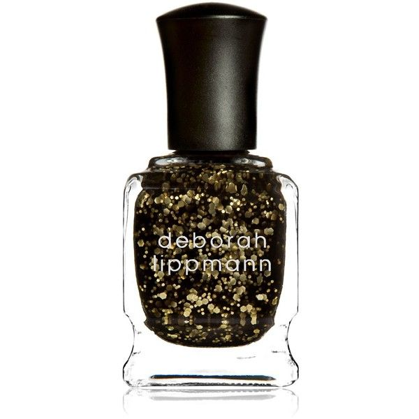 Deborah Lippmann Glitter Nail Colour ($21) ❤ liked on Polyvore featuring beauty products, nail care, nail polish, deborah lippmann, deborah lippmann nail lacquer, deborah lippmann nail color and deborah lippmann nail polish