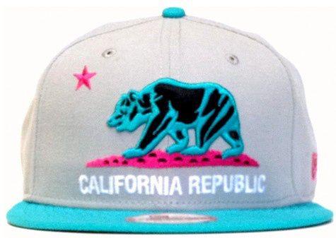 California Republic Snapback Hat (12) , for sale online $5.9 - www.hatsmalls.com