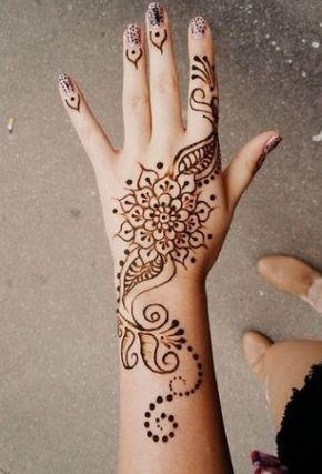 25 best ideas about simple henna designs on pinterest simple henna tattoo hena tattoo and. Black Bedroom Furniture Sets. Home Design Ideas