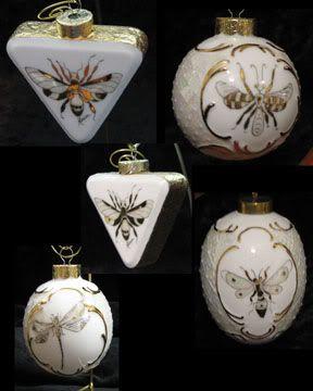 Christmas Ornaments - Art | ARTchat - Porcelain Art Plus (formerly Chatty Teachers & Artists)